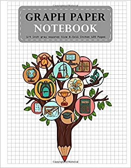 Buy Graph Paper Notebook: Tree Education Composition Notebook Blank Quad  Ruled Student Teacher School Home Office Supplies: Volume 7 (Graph Paper ...