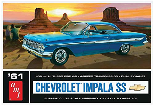 - AMT AMT1013 1:25 Scale 1961 Chevrolet Impala SS Model Kit