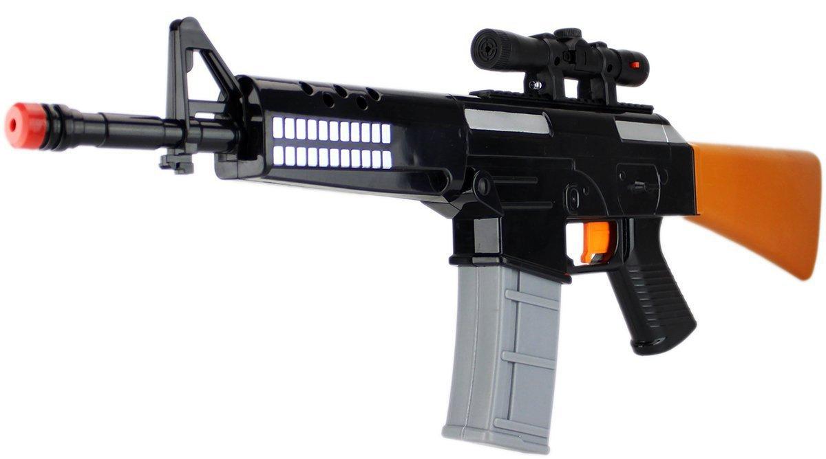 KonShop XXL Hyper-Elektro Wassergewehr Wasserpistole ca.62cm 0, 4 Tank ELEKTRISCH