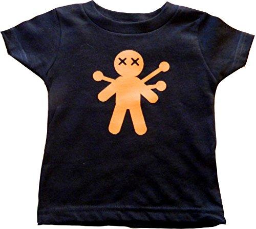 Custom Kingdom Baby Boys/Girls Voodoo Doll Halloween T-Shirt (18/20 XL, -