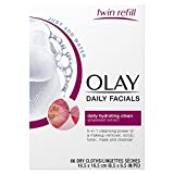 Use Of Facial Cleansing Wipes - Olay Daily Facials Daily Clean Wipes, 4-in-1 Water Activated Cloths, 66 count  Packaging may Vary