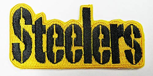 NFL Steelers Embroidered Name Iron-ON Patch 3