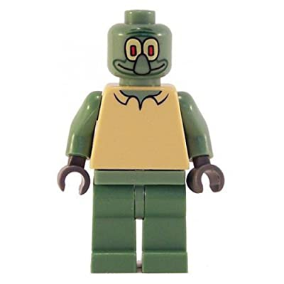Squidward - LEGO Spongebob Squarepants Figure: Toys & Games