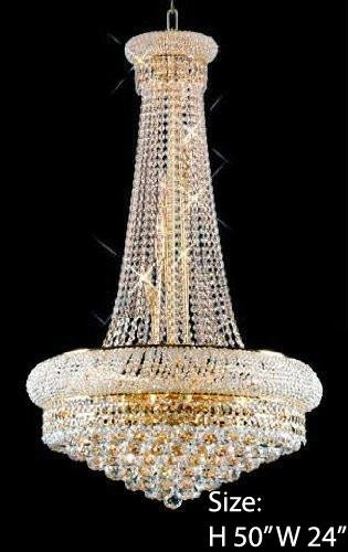 pretty nice 11ebb 6a100 Chandelier Made with Swarovski Crystal! French Empire Crystal Chandelier  Chandeliers H50