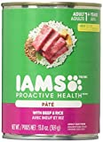 Iams PROACTIVE HEALTH Adult Multipack With Beef and Rice Pate Wet Dog Food 13.0 Ounces (Pack of 6) Review