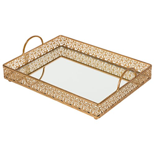 breakfast tray gold - 2