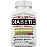 Diabetic Support Supplement by Nuturna® - 28 HERBS & Multivitamins for Blood Sugar