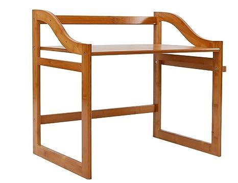 WYQ Estante de bambú Estante for microondas, estantes de ...