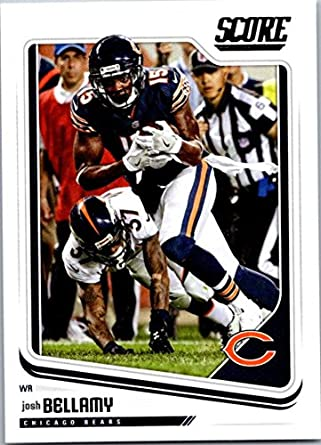 promo code 62843 3efb4 Amazon.com: 2018 Score #60 Josh Bellamy Chicago Bears ...