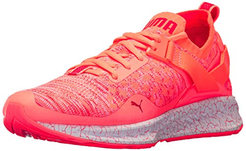 Wn Evoknit Baskets Mode Peach Lo Pour puma Puma Femme Hypernature White Red Ignite poppy Nrgy B5qB1I
