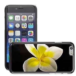 """Etui Housse Coque de Protection Cover Rigide pour // M00134751 Frangipani Plumeria flor // Apple iPhone 6 4.7"""""""