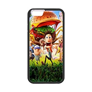 Cloudy With A Chance Of Meatballs 2 Cartoon iPhone 6 Plus 5.5 Inch Cell Phone Case Black TPU Case wyc7ni-1102130