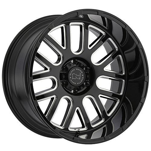 Black Rhino Pismo 22X12 6/139.7 Et-44 Gloss Black W/Milled - Pismo Outlet