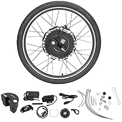 """8d414d93336 Image Unavailable. Image not available for. Color: TABODD 350W 24V Electric  Bicycle Cycle E Bike - 26"""" Front/Rear Wheel Ebike"""