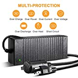 AstroAI AC to DC Converter, 10A/12V DC/120W/7.78FT, Car Cigarette Lighter Socket AC/DC Power Supply Adapter Transformer for Inflator, Car Refrigerator, and Other Car Devices