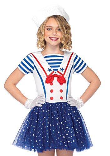 Leg Avenue Children's Sailor Sweetie (Kids Sailor Girl Costumes)