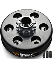 "Bravex Centrifugal Clutch 3/4"" Bore #35 Chain 12T 12 Tooth for Go Kart Mini Bike Engine 3/4 Bar,Up to 6.5 HP"