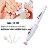 Electric Mini Personal Manicure and Pedicure Kit Includes Callus Remover ...