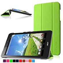 Infiland Acer Iconia One 8 B1-810 case, Ultra Slim Tri-Fold Shell Case Cover for Acer Iconia One 8 B1-810 8-Inch Android Tablet Only (Acer Iconia One 8 B1-810, Green)