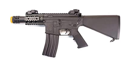 Amazon com : Colt M4 Stubby FS AEG Airsoft Rifle w/Battery & Charger