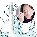 Facial Bones Flat - Lavany Peel Off Blackhead Nose Cleaning Skin Care Remover Tool Washing Makeup Brush (White)