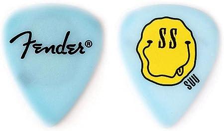Amazon _ 【6枚セット】Fender Artist Signature Pick Sumire Yoshida_すぅ SILENT SIREN シグネチャー ギター ピック _ ギターピック _ 楽器