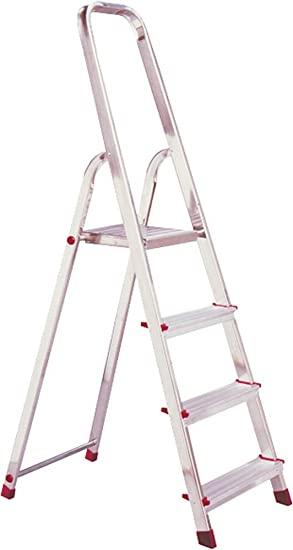 Krause – Escalera de aluminio con HH 3 niveles: Amazon.es: Electrónica