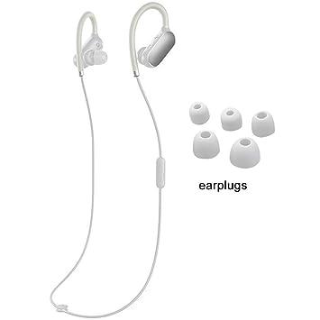 Xiaomi Mi Auriculares Deportivos Bluetooth 4.1 Auricular inalámbrico Música Auriculares Deporte Impermeable a Prueba de Sudor Auriculares: Amazon.es: ...