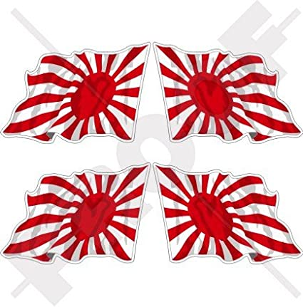 Japón Imperial Japanese Navy saludando bandera Sol Naciente 2
