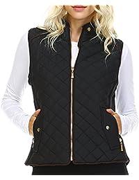 Amazon.com: Black - Vests / Coats, Jackets & Vests: Clothing ...