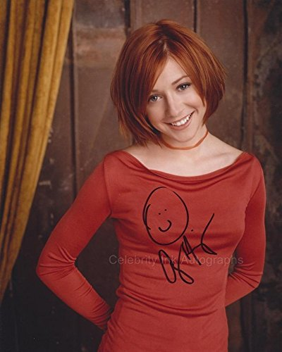 ALYSON HANNIGAN as Willow Rosenberg - Buffy The Vampire Slayer GENUINE AUTOGRAPH