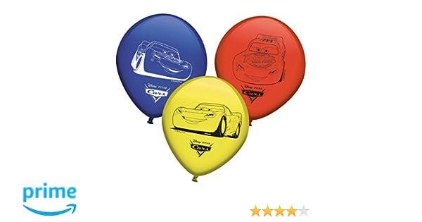 pack 8 globos para fiestas disney cars Verbetena 014000989 pack 8 globos disney cars