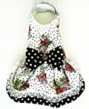 Harness Dress For Dogs or Cat Fancy pet collar. dog dress dog clothes Yorkie Chihuahua Maltese