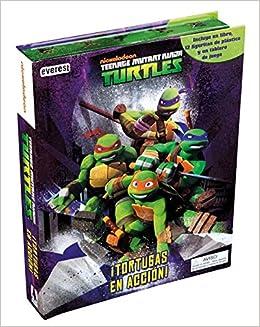 Tortugas Ninja - Libro Tortugas en Acción Libros singulares ...
