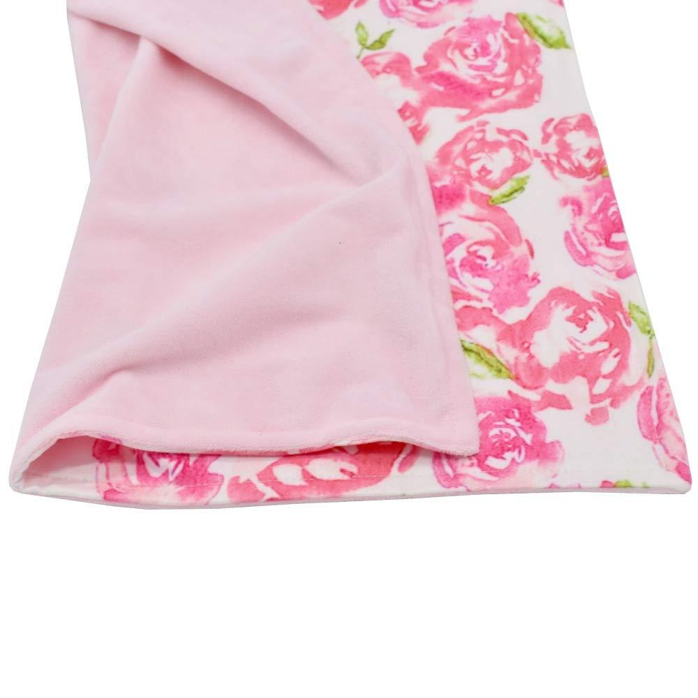 Super Soft Infant Snuggle Blanket Bear Newborn Baby Blanket Baby Shower Gifts Mini Lovey Security Blanket