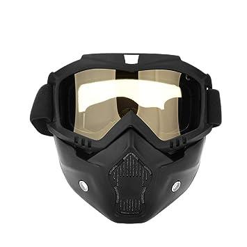 H-MetHlonsy Esquí Snowboard Gafas Máscara Moto de Nieve ...