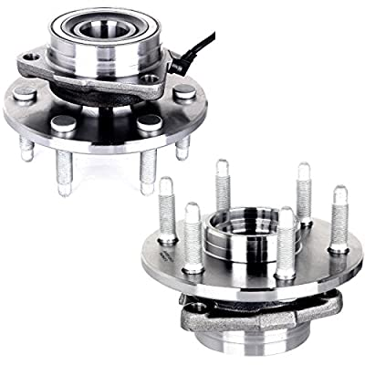 ECCPP Wheel Hub Bearing Assembly New Premium Bearing Front Left/Right 6 Lugs W/ABS Replacement fit for Cadillac Escalade Avalanche 1500 515036: Automotive