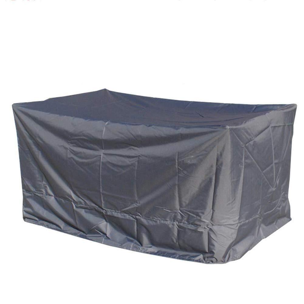 Chihen 庭の藤の家具カバー屋外のちり止めの日焼け止めオックスフォードの生地 - 銀 (Color : Gray, Size : 250x250x90cm) B07TFFMS1Z Gray 250x250x90cm