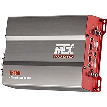 MTX Amplificador 4X75WRMS@2OHM Clase AB