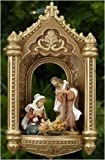 Fontanini Holy Family in Arch Nativity Christmas Ornament #56205