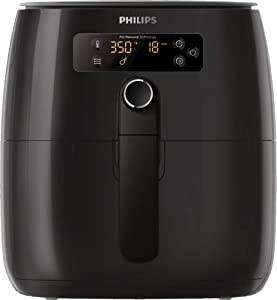 Philips Premium TurboStar 1.8lb/2.75qt Airfryer - HD9741/96 (Latest Model 2020) (Digital Black)