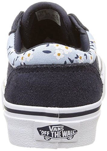 M盲dchen flower 30 Vans Sneakers Milton Vans Milton Blau EU blue twSBqCYx