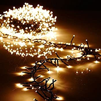 Amazon.com: Christmas Cluster Lights Battery Operated 15 Foot ...