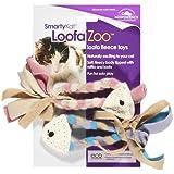 SmartyKat LoofaZoo Loofa Fleece Toy, My Pet Supplies