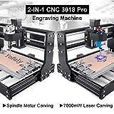 7W Laser Engraver CNC 3018 Pro GRBL Control