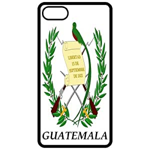 Guatemala - Coat Of Arms Flag Emblem Black Apple Iphone 5 Cell Phone Case - Cover