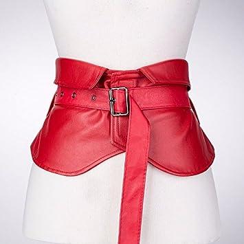 2018 nueva primavera moda hembra cintura faja decorativa de blusa y falda ancha cinta sub -
