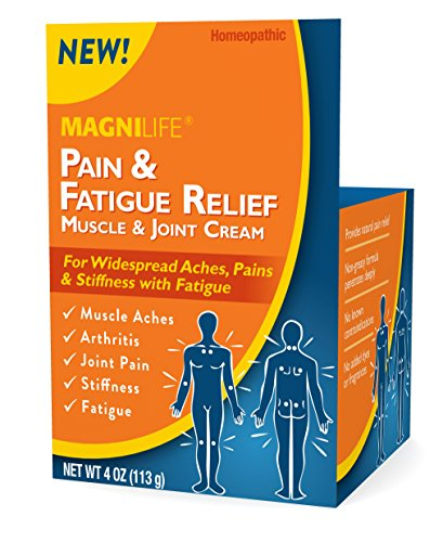 MagniLife Pain and Fatigue Relief Cream Topical Muscle, Joint, Shoulders, Arthritis, Tenderness, Joints Aid Treatments (Muscle Aches And Joint Pain And Fatigue)