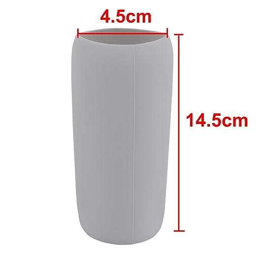 Amazon.com: Vidrio resistente eDealMax silicona Home Cafe calor taza de la botella té café protector de la manga gris claro: Kitchen & Dining