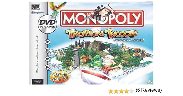 Monopoly Tropical Tycoon DVD Game by Hasbro: Amazon.es: Juguetes y juegos